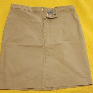GAP Khakis Skirt